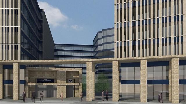 תחנת רכבת מודיעין מרכז (קרדיט: רכבת ישראל, פלג אדריכלים) (צילום: גוגל מפות) (צילום: גוגל מפות)