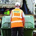 פינוי אשפה בתל אביב צילום: גיל לרנר