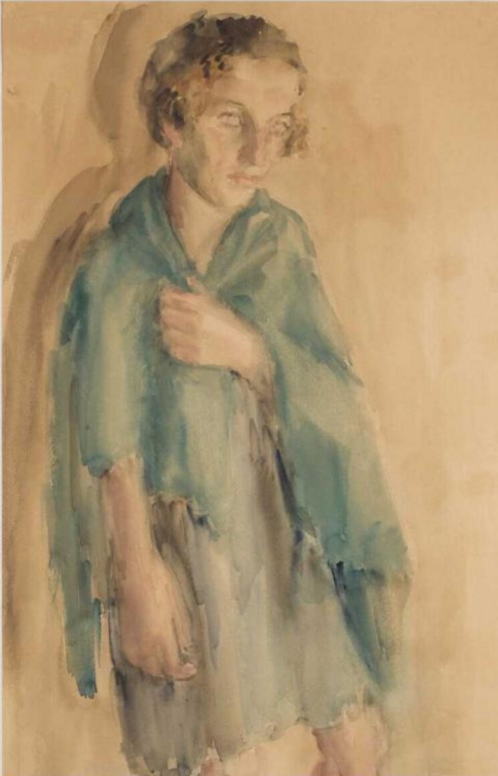 """""""עומק היאוש והכאב והרעב, הכל שם. יחד עם זאת, אלו לא תמונות זוועה, אלא תמונת קורעות לב"""" (באדיבות המוזיאון היהודי של פולין) (באדיבות המוזיאון היהודי של פולין)"""