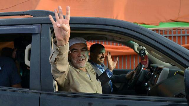 Salah waves at camera before he serves prison sentence