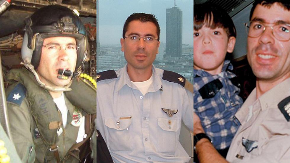 """רס""""ן סמי בן נעים ז""""ל. נהרג ביסעור שהופל בלבנון ()"""