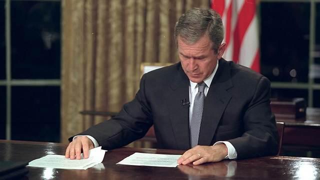 ג'ורג' וו. בוש (צילום: Eric Draper / George W. Bush Presidential Library and Museum) (צילום: Eric Draper / George W. Bush Presidential Library and Museum)