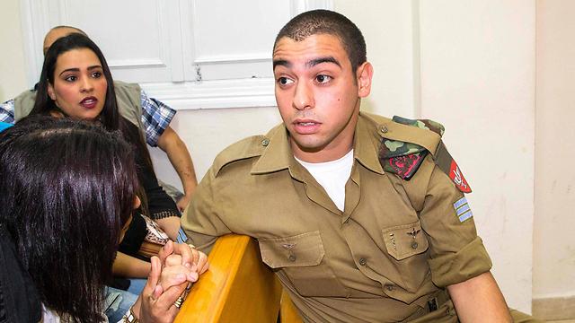 אלאור עזריה, החייל היורה. ייתכן שטעה (צילום: AFP) (צילום: AFP)
