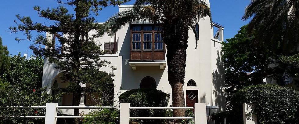בית ביאליק בתל-אביב (צילום: ליאור פז) (צילום: ליאור פז)