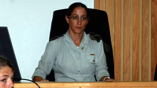 Head judge Col. Maya Heller (Photo: Yariv Katz) (Photo: Yariv Katz)