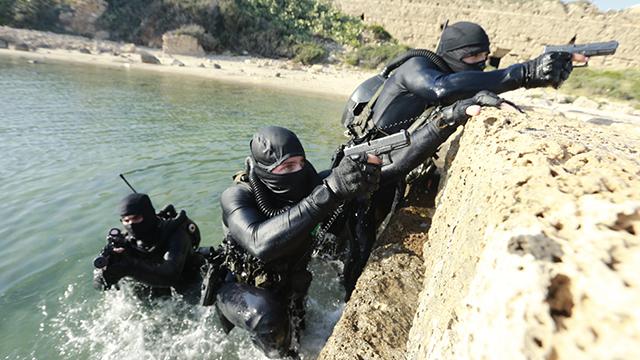 שייטת 13 של חיל הים באימונים. ארכיון (צילום: גדי קבלו) (צילום: גדי קבלו)