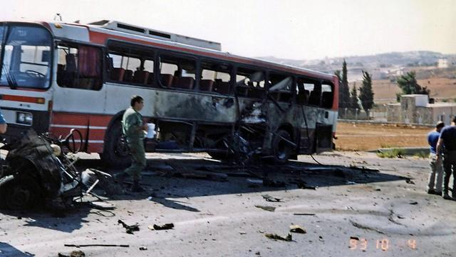 1993 - תקופת הפיגועים באוטובוסים בעקבות הסכמי אוסלו (ארכיון אגד) (ארכיון אגד)