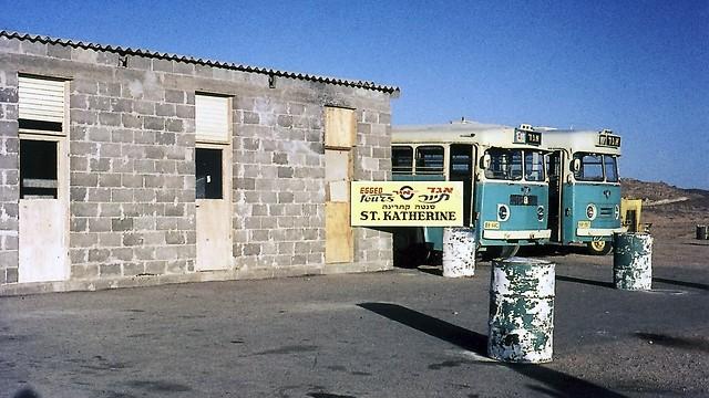 1972 - קווי הטיולים של אגד בדרום סיני ובסנטה קתרינה (ארכיון אגד) (ארכיון אגד)