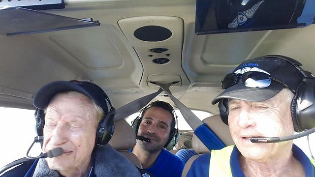 Flint doing a sortie along the Israeli coastline