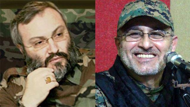 חוסלו בסוריה. מוסטפא בדר א-דין ועימאד מורנייה ()