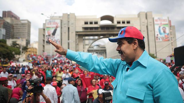 ממשיך דרכו של צ'אבס, ניקולס מדורו (צילום: EPA) (צילום: EPA)