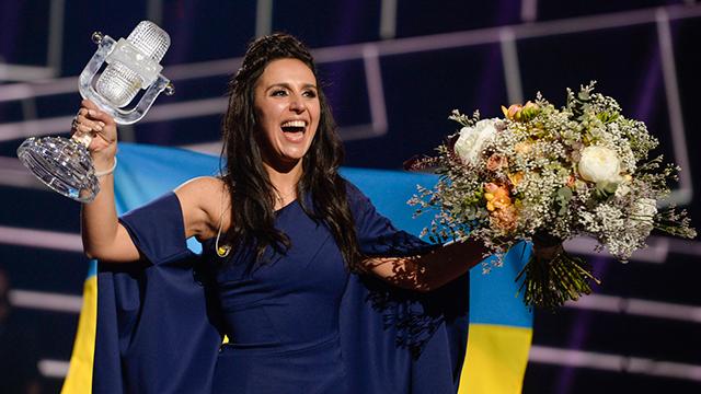 ג'מאלה סומבר. ניצחה עם שיר על רצח עם (צילום: AP) (צילום: AP)