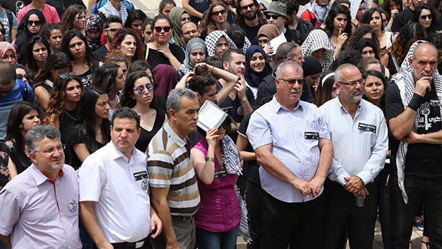 Nakba Day commemorated at Tel Aviv University (Photo: Motti Kimchi)