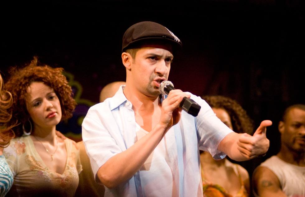 """במחזמר הקודם שלו, """"In The Hights"""", שעסק בקהילה ההיספאנית משכונת וושינגטון הייטס במנהטן (צילום: gettyimages)"""