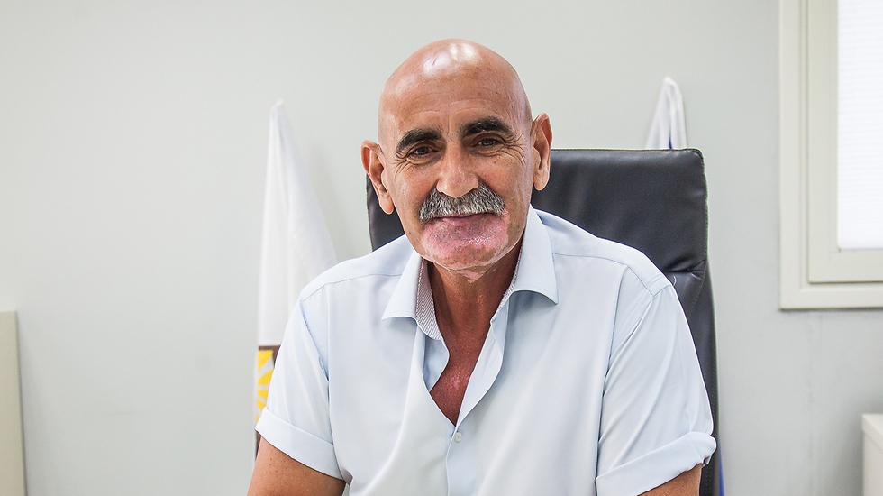 David Elhiani, head of the Jordan Valley Regional Council