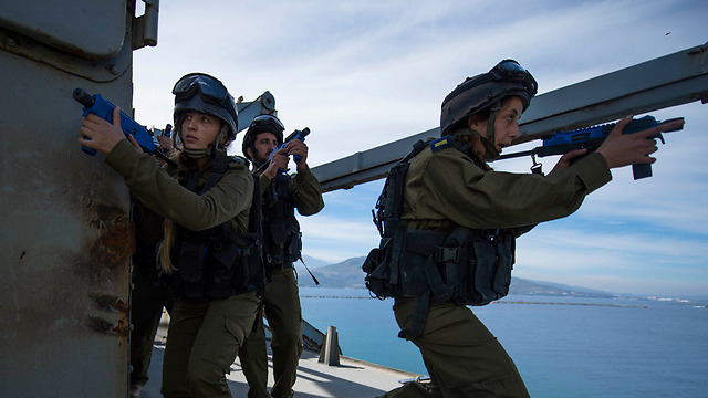 Nobel Dina joint training excersize (Photo: IDF Spokesperson's Unit)