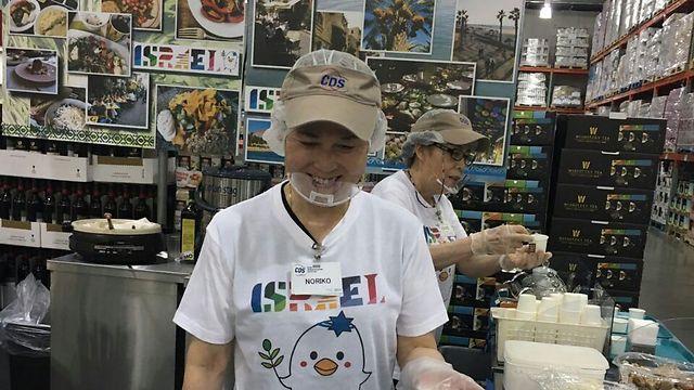 Israeli food festival in Japan (Photo: The Israel Export Institute)