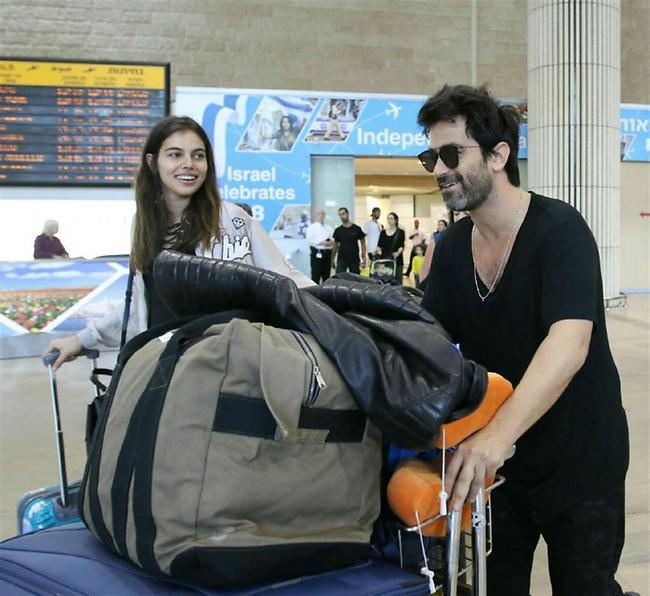 אחרי זה כשנפרוק את המזוודות, הם בטוח יבואו לבקר אותנו בשבוע הקרוב (צילום: אבי מועלם)