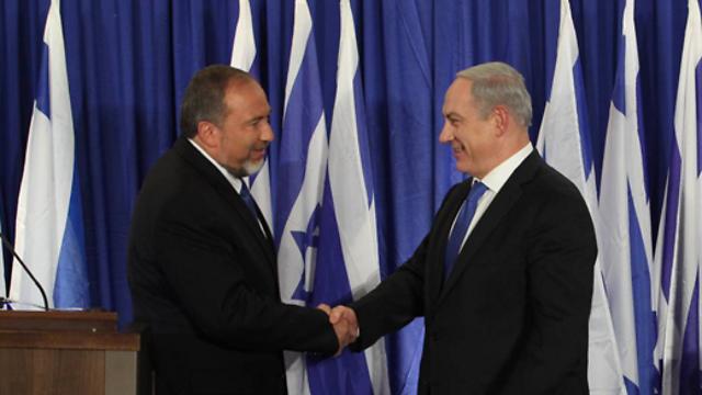 Netanyahu and Liberman. An irresponsible decision. (Photo: Gil Yohanan)