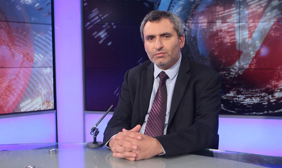 Minister of Jerusalem Ze'ev Elkin. (Photo: Yaron Brener)