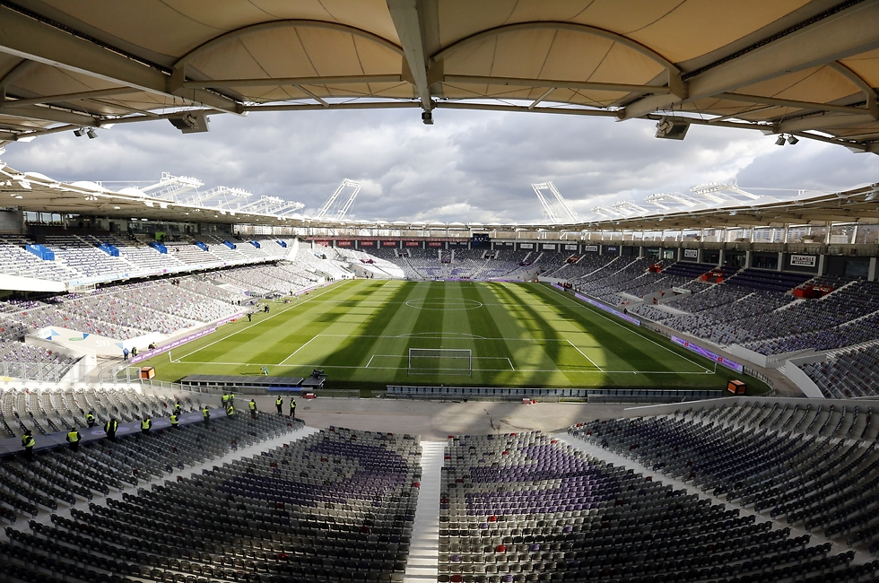 האצטדיון בטולוז (צילום: גטי אימג'ס) (צילום: גטי אימג'ס)