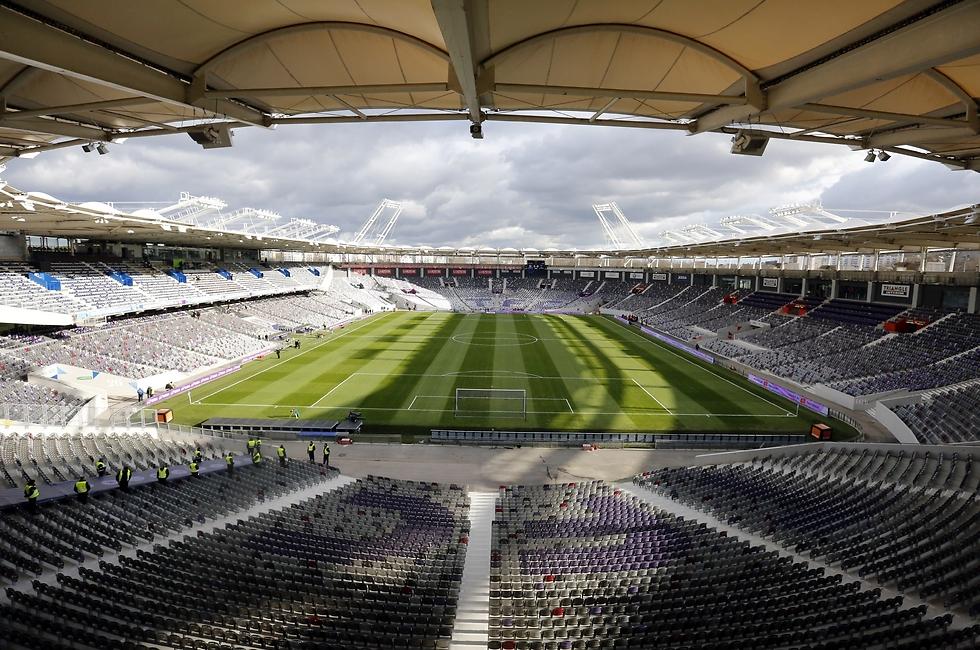 האצטדיון בטולוז (צילום: גטי אימג'ס)