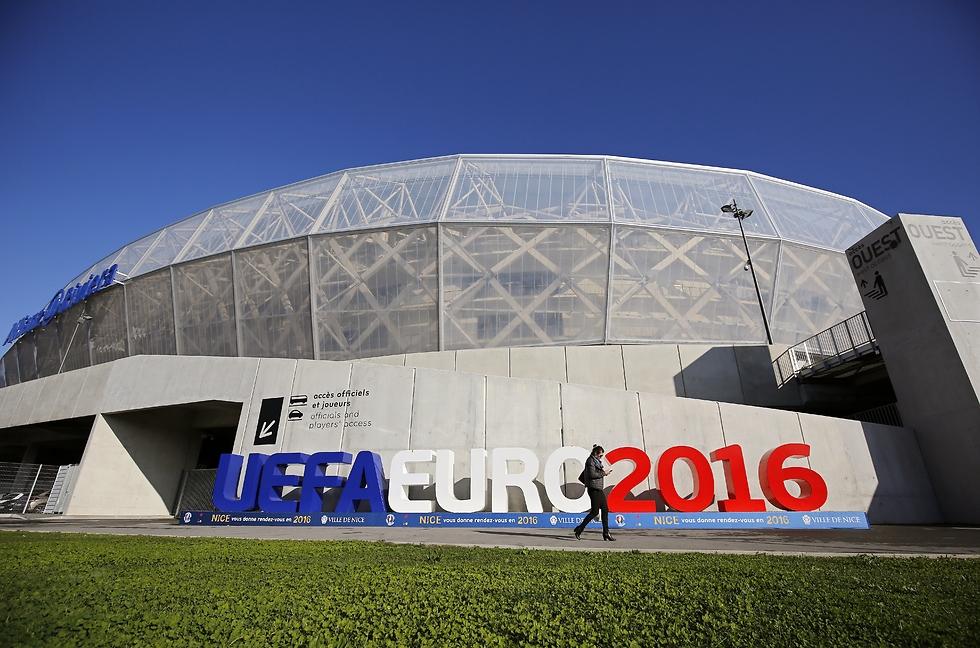 אצטדיון יורו 2016 בניס (צילום: גטי אימג'ס)