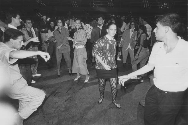 הסינרמה, בגלגולה כמועדון ריקודים חדשני וענק (צילום: מיכאל קרמר)