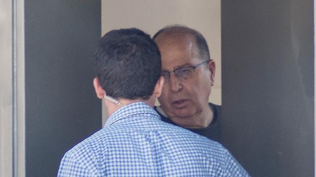 שר הביטחון משה יעלון, היום (צילום: יובל חן) (צילום: יובל חן)