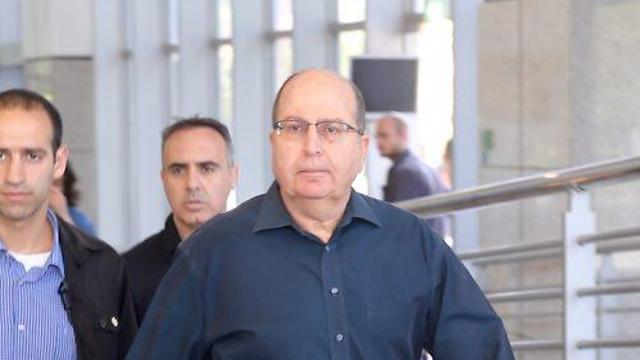 Outgoing defense minister Ya'alon (Photo: Motti Kimchi)