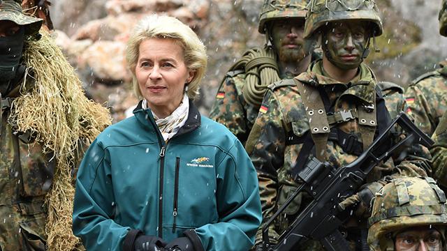 Министр обороны Германии Урсула фон дер Лейден. Фото: AFP