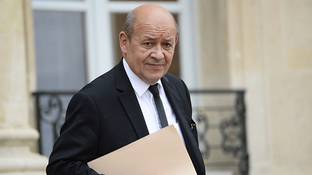 French Minister of Defense, Jean-Yves Le Drian (Photo: AFP) (Photo: AFP)