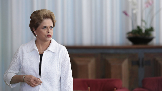 Suspended President Dilma Rousseff (Photo: AP) (Photo: AP)
