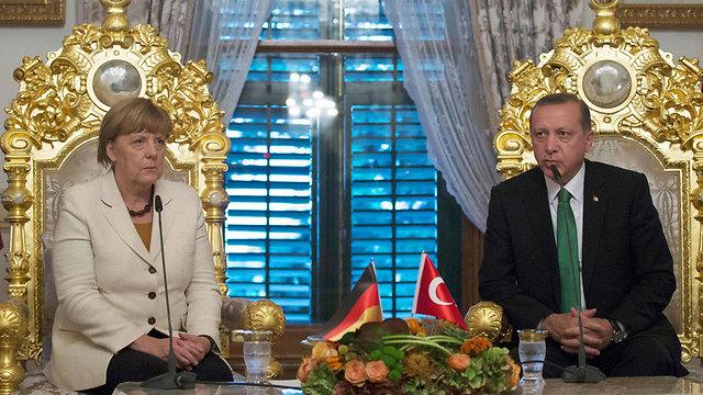 גרמניה והאיחוד האירופי תלויים בטורקיה בסוגיית משבר המהגרים (צילום: APF) (צילום: APF)