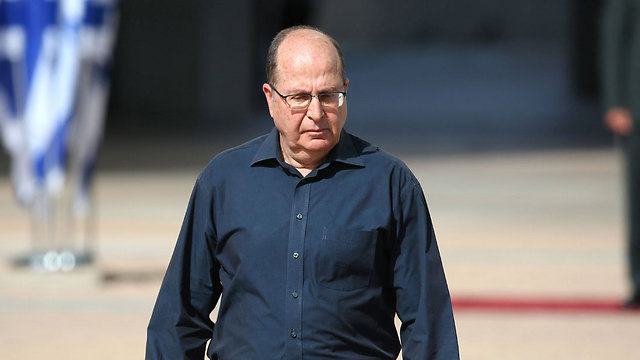 Former Defense Minister Moshe Ya'alon. An easy target for everyone (Photo: AFP)