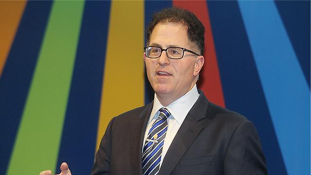 CEO of Dell, Michael Dell (Photo:Niv Cantor)