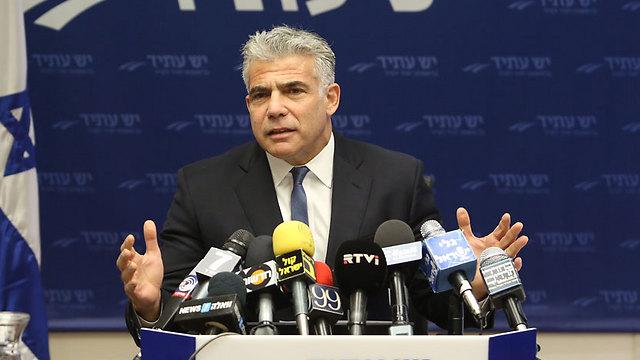 Yair Lapid (Photo: Gil Yohanan)