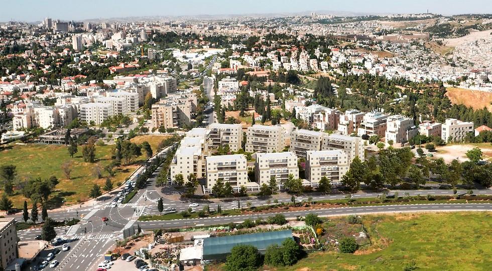 הדמיית פרויקט אלנבי בירושלים. השכרה לטווח ארוך (הדמיה: ASSAF PEREZ)
