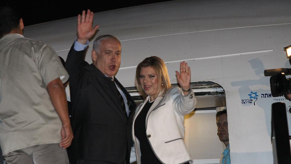 """שרה ובנימין נתניהו. """"הנסיעות היו חשובות למדינת ישראל"""" (צילום: אוהד צויגנברג ) (צילום: אוהד צויגנברג )"""
