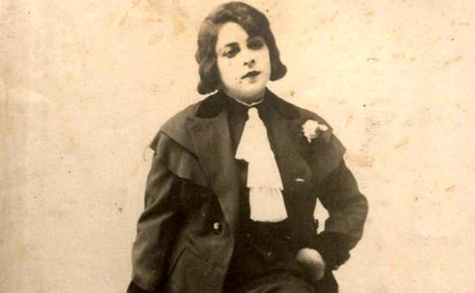 """חביבה מסיכה. """"באותם ימים לא היה מקובל שיהודייה תופיע בפני לא יהודים, והיא הפכה למיתוס בתור מי שהצליחה במגזר הערבי"""" (צילום: מתוך wikimedia, cc)"""