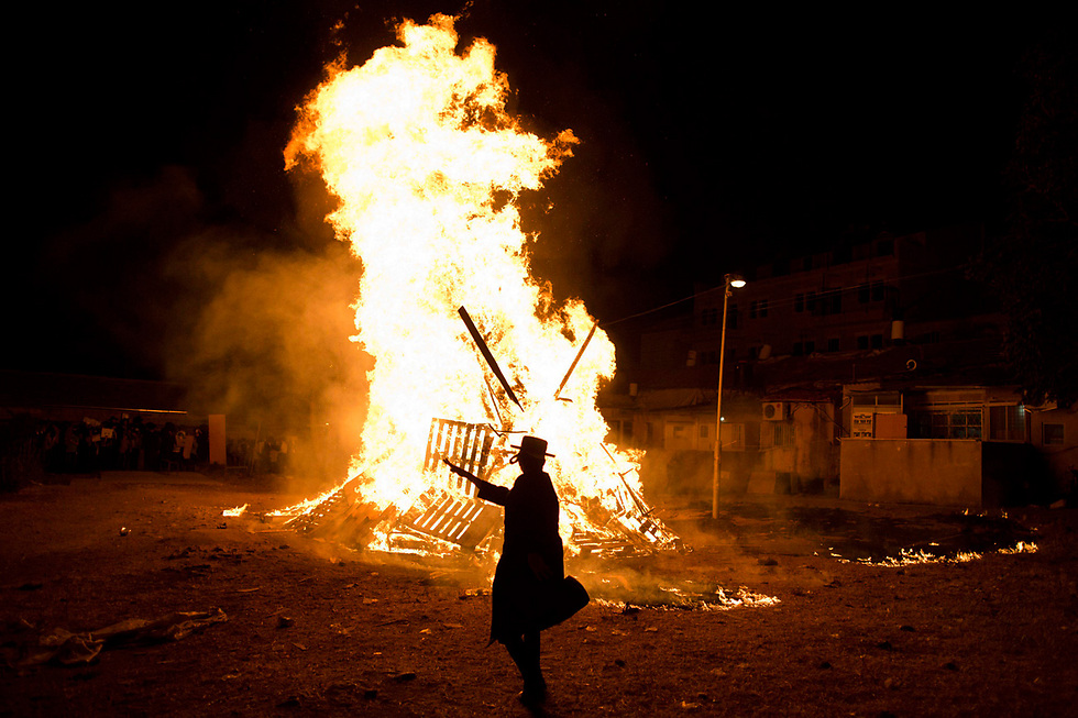 Last year's Lag B'Omer (Photo: Reuters)