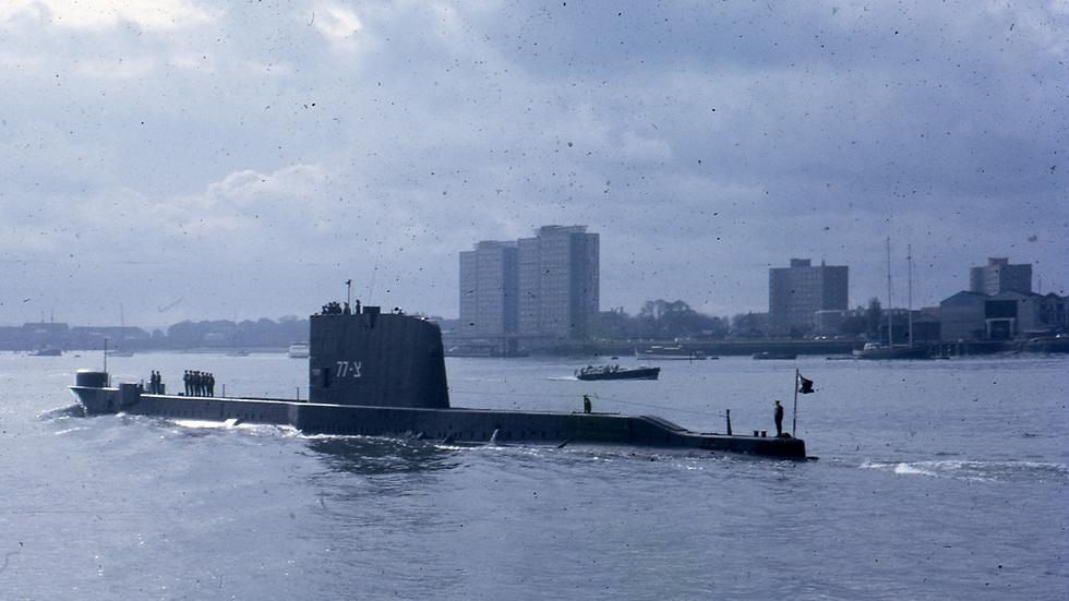 הצוללת דקר (באדיבות עמותת דולפין יוצאי חיל הים) (באדיבות עמותת דולפין יוצאי חיל הים)