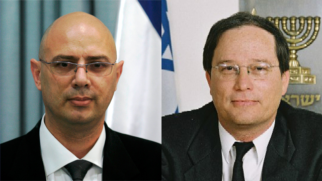 השופטים מנחם רניאל ויעקב בכר (צילום: אתר בתי המשפט)