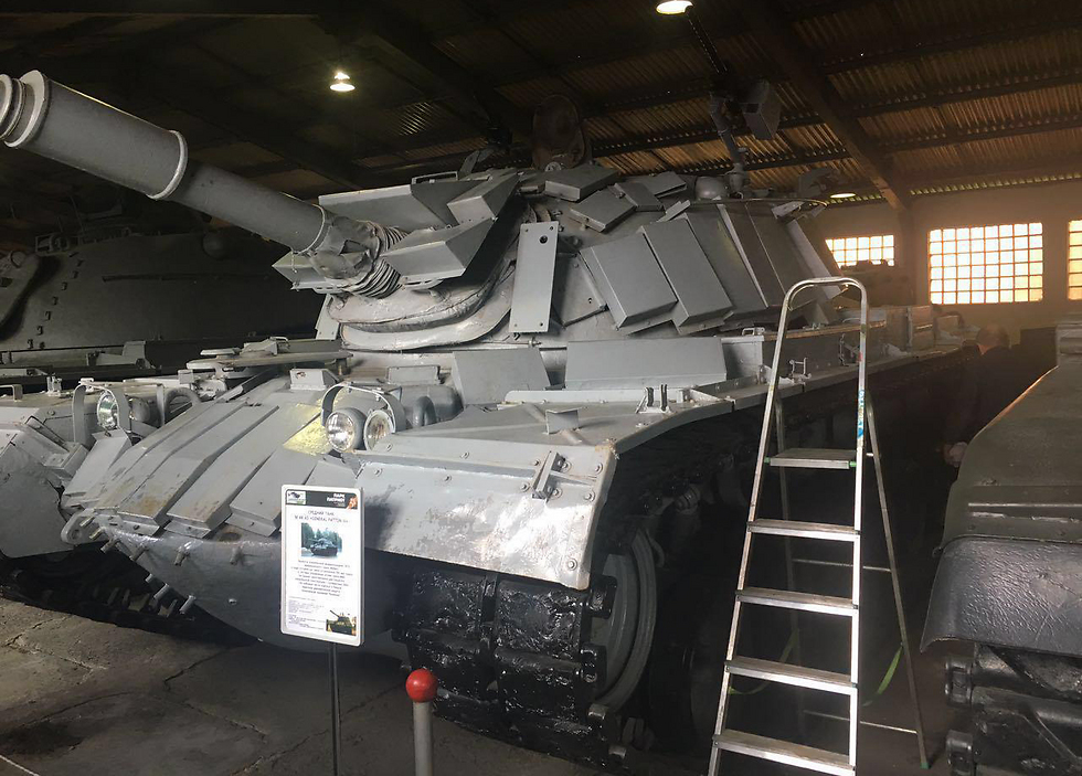 Allegedly the tank from the battle