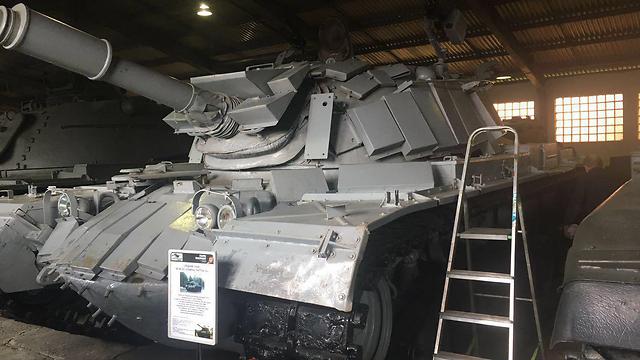 הטנק מהקרב. כיום מוצב במוזיאון השריון במוסקבה ()