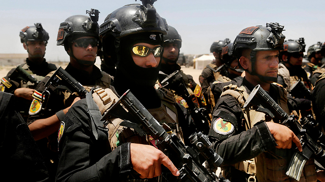 Iraqi special forces soldiers (Photo:AP)