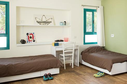 חדרים מרווחים ומוארים (צילום: רני לוריאשחר)