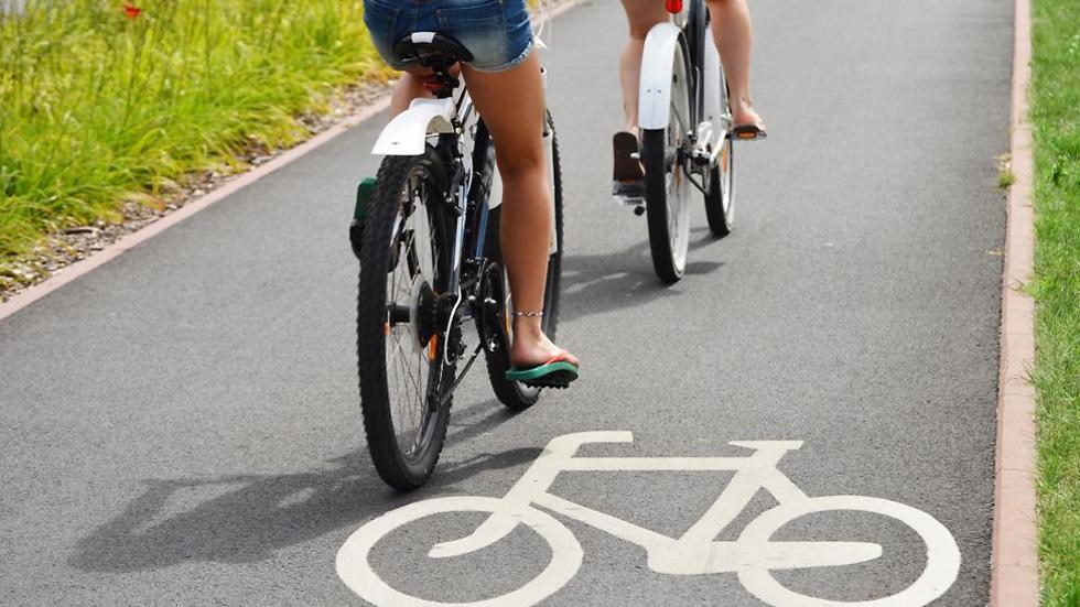 שבילי אופניים מסודרים. המלצות החוקרים (צילום: shutterstock)
