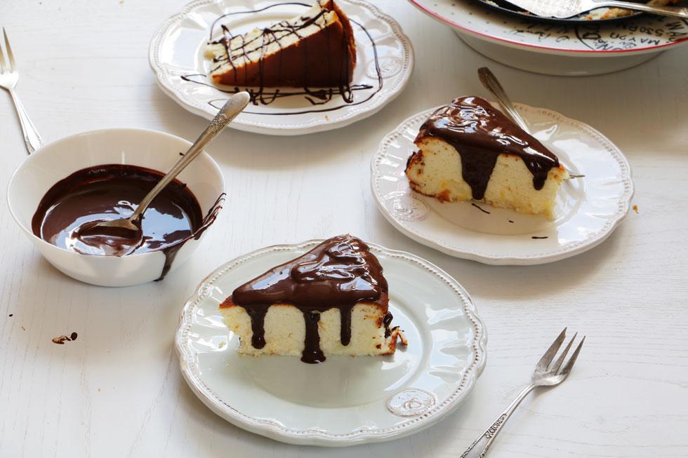 עוגת גבינה מופחתת קלוריות (צילום: נטע-חן ליבנה)
