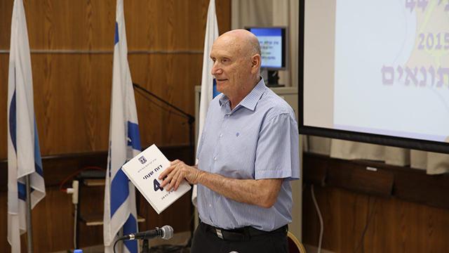 IDF ombudsman, Major-General (res.) Yitzhak Brik  (Photo: Motti Kimchi)